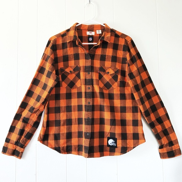 cleveland browns flannel shirt